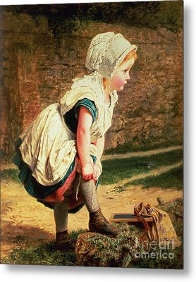 Wait For Me Metal Print by Sophie Anderson
