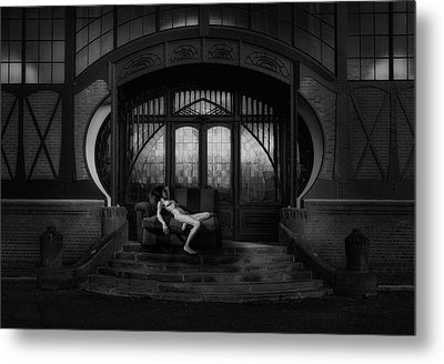 Waiting For Amor Metal Print by Holger Droste