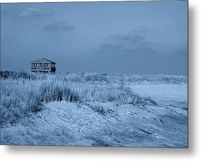Waiting For Summer - Jersey Shore Metal Print by Angie Tirado