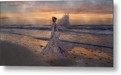 Waiting For The Sun Metal Print by Betsy C Knapp