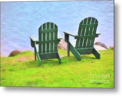 Waiting For You Metal Print by Betty LaRue