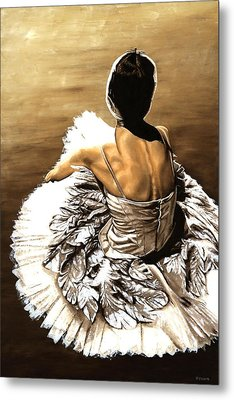 Waiting In The Wings Metal Print by Richard Young