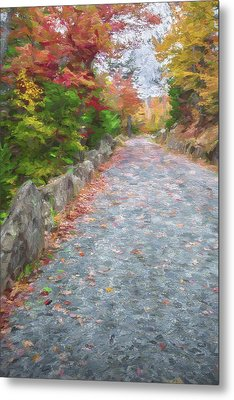 Walk Along II Metal Print by Jon Glaser