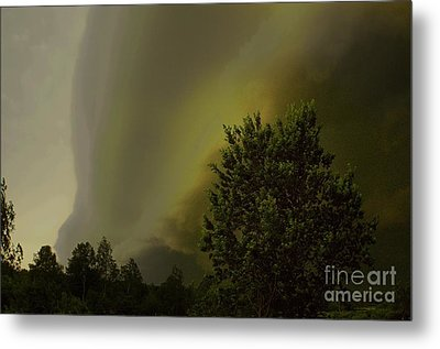 Wall Clouds Metal Print by The Stone Age