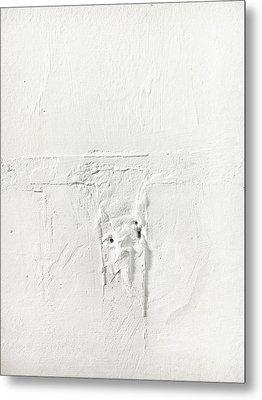 Wall Plaster Detail Metal Print by Tom Gowanlock