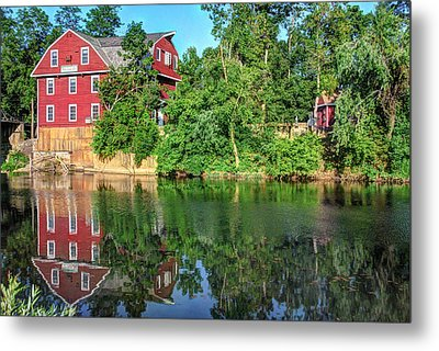 War Eagle Mill On The River - Northwest Arkansas Metal Print by Gregory Ballos