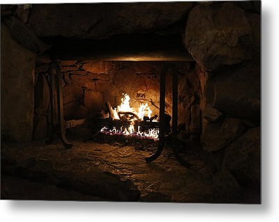 Warm Metal Print by Jeff Roney