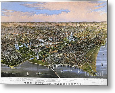 Washington, D.c., 1880 Metal Print by Granger