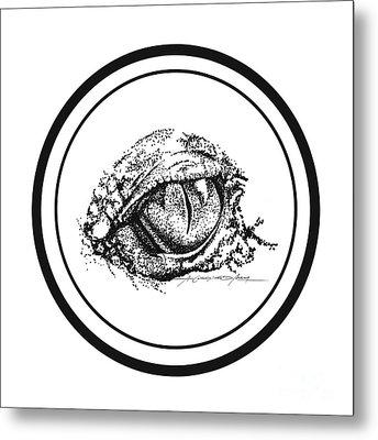 Watchfuleye Metal Print by Roa Malubay