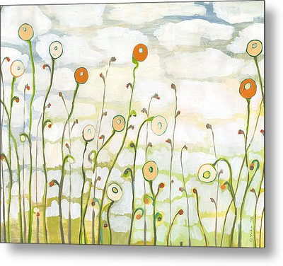 Watching The Clouds Go By No 2 Metal Print by Jennifer Lommers