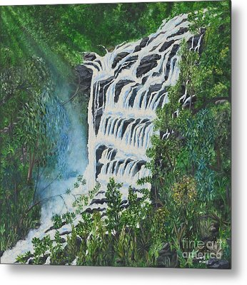Water Metal Print by Usha Rai