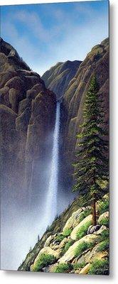 Waterfall Metal Print by Frank Wilson