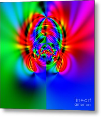 Wave 010b Metal Print by Rolf Bertram