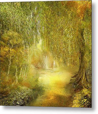 Way Of Thoughts Metal Print by Anne Weirich