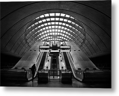 Way Out Metal Print by Ricky Siegers