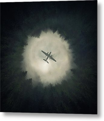 Way Out Metal Print by Zoltan Toth
