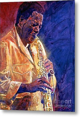 Wayne Shorter The Message Metal Print by David Lloyd Glover