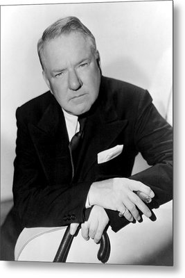 W.c. Fields, Paramount Pictures, 1935 Metal Print by Everett