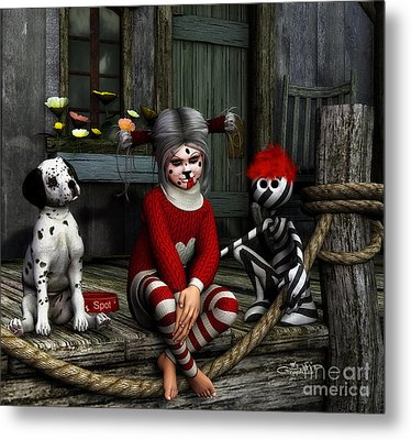 We Are Family Metal Print by Jutta Maria Pusl