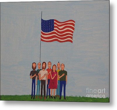 We Pledge Metal Print by Gregory Davis