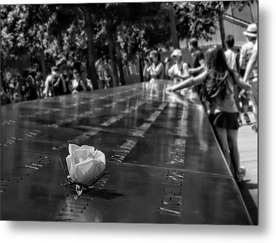 We Will Never Forget-2 Metal Print by Nina Bradica