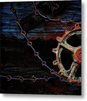 Weathered And Worn Metal Print by Bob Orsillo