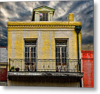 Weathered Metal Print by Christopher Holmes