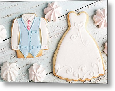Wedding Cookies Metal Print by Vadim Goodwill
