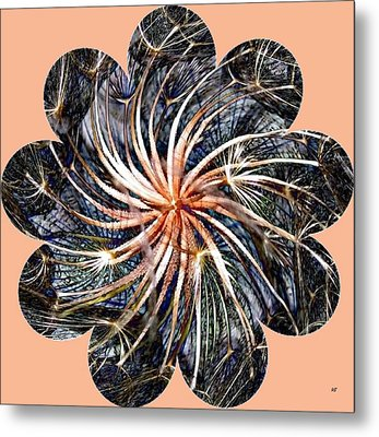 Weed Whirl Metal Print by Will Borden