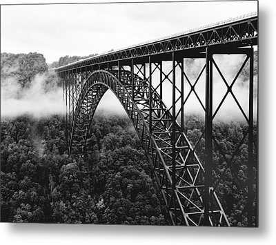West Virginia - New River Gorge Bridge Metal Print by Brendan Reals