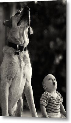 What Is That Metal Print by Stelios Kleanthous