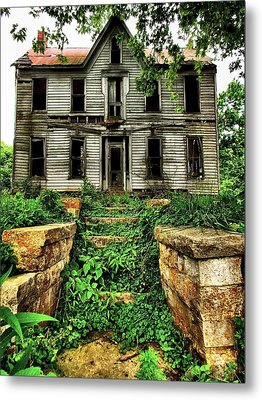 What Once Was Grand Metal Print by Julie Dant