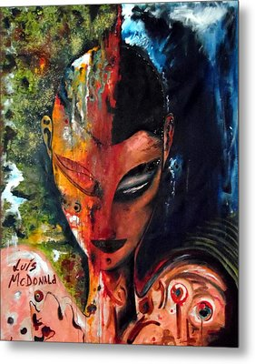 What You Make About Me Metal Print by Luis McDonald