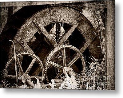 Wheels Of Time Metal Print by Gabriela Insuratelu