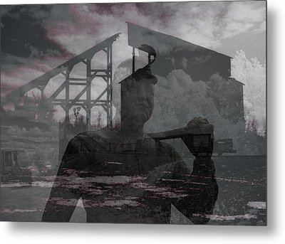 When Coal Was King Metal Print by Jim Cook