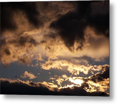 When Heaven Speaks Metal Print by Glenn McCarthy Art and Photography