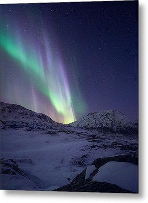 When It All Falls Down Metal Print by Tor-Ivar Naess