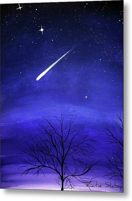 When Stars Fall Metal Print by Katie Slaby
