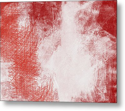Where It Takes You- Abstract Art By Linda Woods Metal Print by Linda Woods
