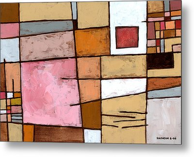 White Chocolate Metal Print by Douglas Simonson