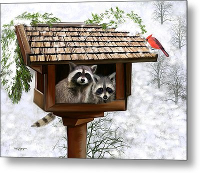 White Christmas Metal Print by Thanh Thuy Nguyen