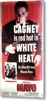 White Heat, James Cagney, Virginia Metal Print by Everett