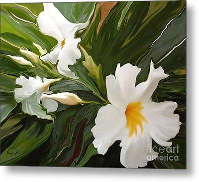 White Jasmine Metal Print by Corey Ford