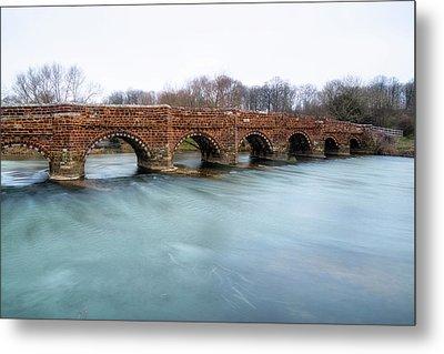 White Mill Bridge - England Metal Print by Joana Kruse
