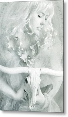 White Witch II Metal Print by Cambion Art