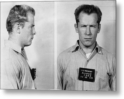 Whitey Bulger Mug Shot Metal Print by Edward Fielding