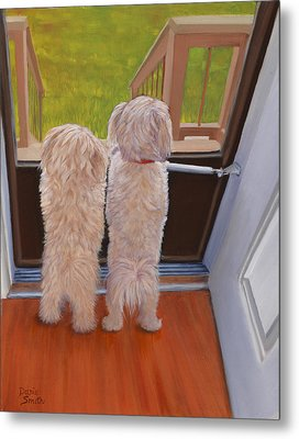 Who's There Metal Print by Danielle Smith