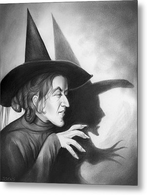 Wicked Witch Of The West Metal Print by Greg Joens