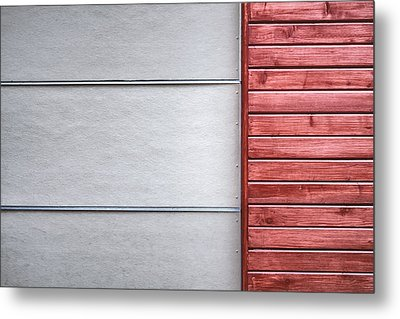 Wide And Narrow Lines Metal Print by Scott Norris