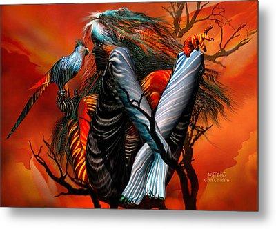Wild Birds Metal Print by Carol Cavalaris